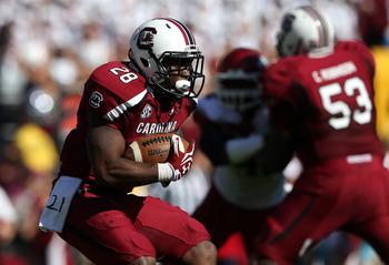 The Gamecocks have felt the loss of Marcus Lattimore.