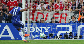 The moment Drogba consigned Spurs to the Europa League.