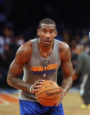 Stoudemire is slowly getting ready to play again