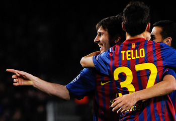 Lionel Messi and Christian Tello have been key figures for Barcelona this season