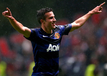 Robin van Persie has been an inspiration for Manchester United in the Champions League this season