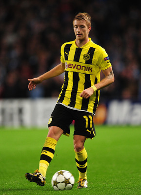 Marco Reus has been in excellent form for Borussia Dortmund