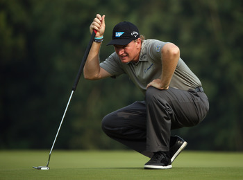 The belly putter, along with an improved game overall, made Ernie Els a major champion in 2012.