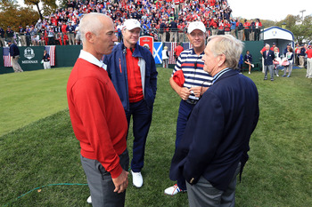 Jack Nicklaus (right) says not to worry, all will be well.