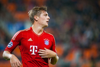 Toni Kroos in action