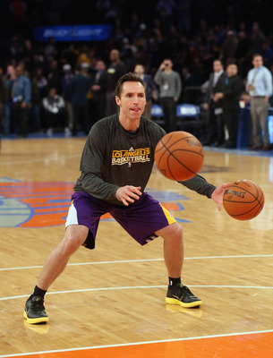 Steve Nash the magician?  Can a 39-year-old dribble, shoot, score, pass and defend all at once?  The pressure is on.