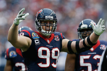 J.J. Watt is one of the few defensive players who has a strong case for the MVP award.