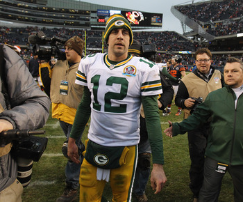 Aaron Rodgers is the defending MVP.