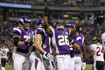 Adrian Peterson is the best player in the NFL this season.