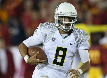 How will the Ducks and QB Marcus Mariota fit into the playoff in two years?