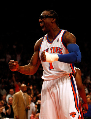 Amar'e will not fit immediately into the offense.