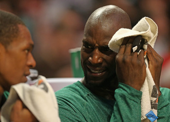 Garnett would agree that it has been tough watching Boston at times this season.