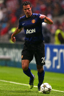 Van Persie against Braga