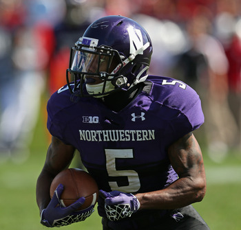 Northwestern RB Venric Mark