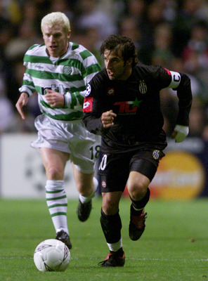 Celtic manager Neil Lennon played against Juventus in the Champions League group stages in 2001