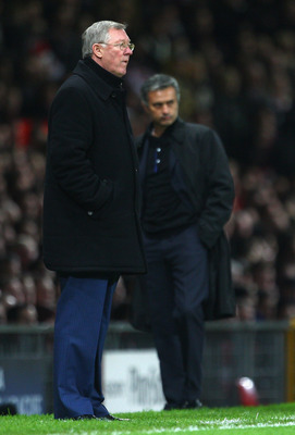 Sir Alex Ferguson and Jose Mourinho are long-time rivals as managers