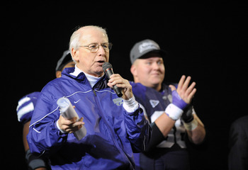 Kansas State coach Bill Snyder