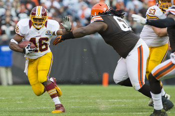 Morris was the Redskins' entire running game last week in Cleveland.