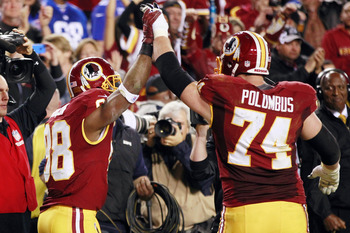 Tyler Polumbus suffered a concussion last week, which means the Redskins could be down to their fourth-string RT.