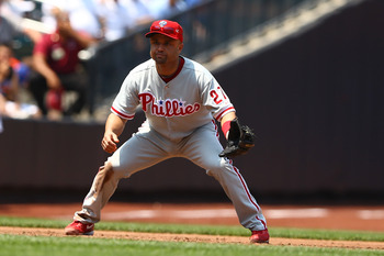 Veteran Placido Polanco was brought in to play third base on a one-year, $2.75 million deal.