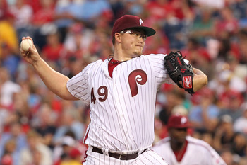 SP Vance Worley was acquired from the Phillies along with prospect Trevor May for CF Ben Revere