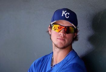 Minor League Player of the Year Wil Myers was acquired from the Royals in a trade for SP James Shields.