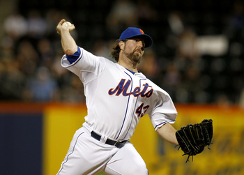Reigning NL Cy Young winner R.A. Dickey was acquired from the Mets for a package of prospects.