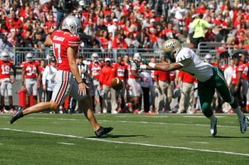 Ben Buchanan leaves after four years of punting at Ohio State.