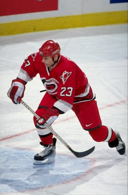 Martin Gelinas was a part of the underachieving Hurricanes in 2003.