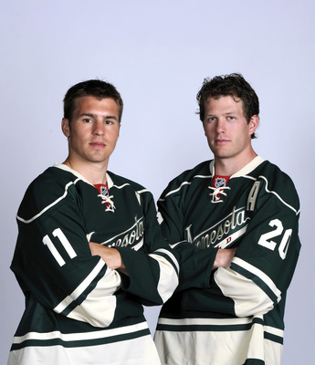 It's the Minnesota Wild's two biggest gifts and they don't get to play with them.