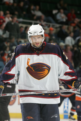 Patrick Stefan was the first pick in the history of the Atlanta Thrashers.