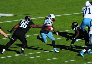 Chris Johnson looks to close season with big game against Jaguars.