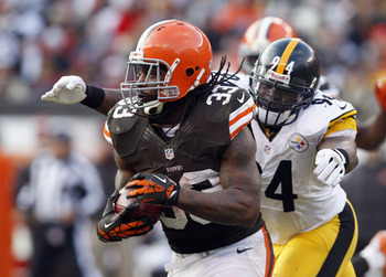 Trent Richardson needs 50 rushing yards for a 1,000-yard season.