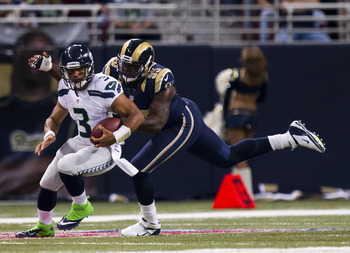 Can the St. Louis Rams defense slow down the Seattle offensive explosion?