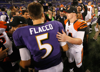 Andy Dalton and Joe Flacco meet to determine final AFC seedings.
