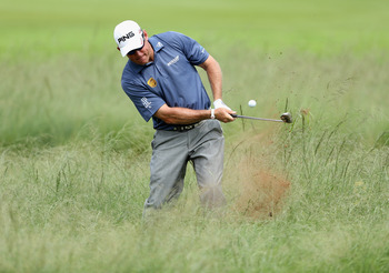 Getting up and down from any kind of lie around the green is Lee Westwood's shortcoming.