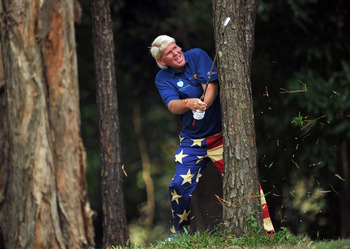 There's been a lot of this for John Daly in recent years.