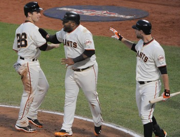 Buster Posey, Pablo Sandoval and Brandon Belt all began their careers in the San Francisco Giants organization.