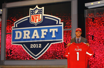 Arizona took Michael Floyd in the first round in the 2012 Draft.
