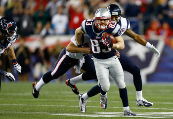 Welker (center) is going to be a free agent. Could Arizona make a run at him?