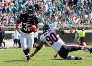 Maurice Jones-Drew and the Jaguars will take on the Cardinals in 2013.