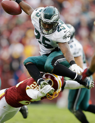 LeSean McCoy will make his return this week and could pose problems for the Redskins if he and backfield mate Bryce Brown can find some lanes.