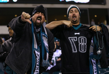 Eagles fans may not have much to cheer about in 2012, but they are still as loud and rowdy a bunch as there is in the NFL.