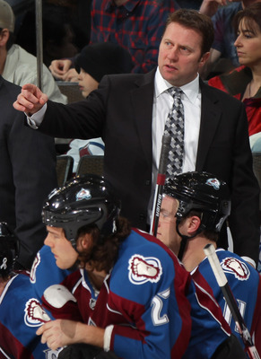 Sacco was hired after Patrick Roy turned down the job.