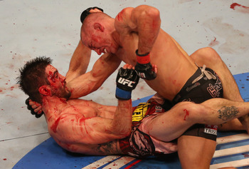 Condit vs. St-Pierre was a war unlike anything we'd seen from GSP before.