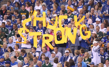 The 2012 Indianapolis Colts: #CHUCKSTRONG.