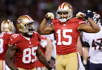 Michael Crabtree and Vernon Davis will be facing a tough, physical secondary this week at Seattle.