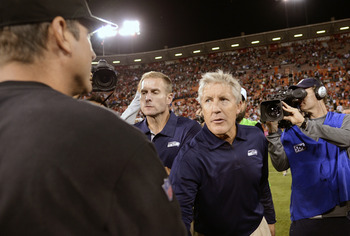 Seattle's Pete Carroll and San Francisco's Jim Harbaugh rekindle a rivalry Sunday dating back to their college coaching days.
