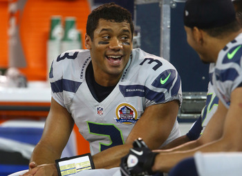 Russell Wilson and the Seahawks can clinch a playoff spot with a win Sunday against the 49ers.