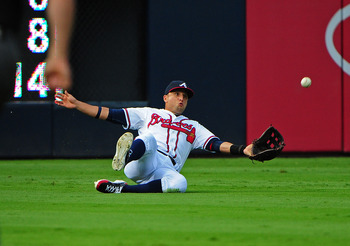 Atlanta wants to move Martin Prado back to third base.